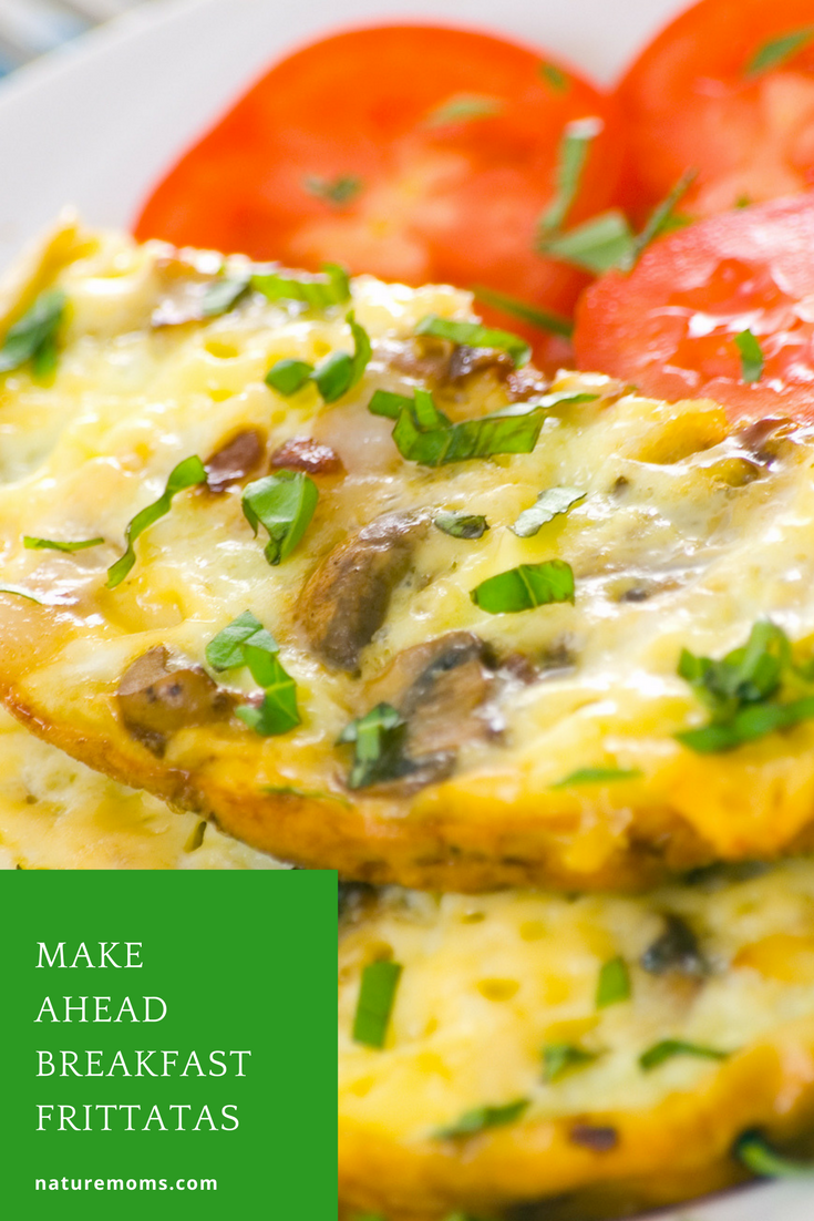 Make Ahead Breakfast Frittatas