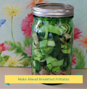 Make Ahead Breakfast Frittatas - naturemoms.com