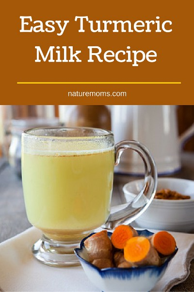 easy turmeric milk recipe