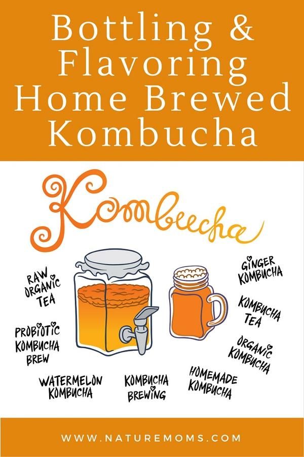 flavoring homemade kombucha