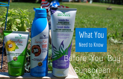 What you need to know before buying sunscreen