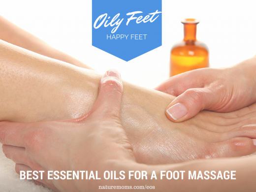 Essential Oil Foot Massage - Naturemoms.com/eos