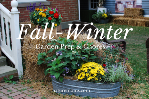 Fall Winter Garden Prep Chores - naturemoms.com