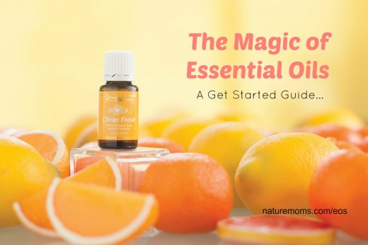 The Magic of Essential Oils - A Get Started Guide at Naturemoms.com