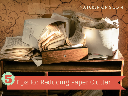 Tips for Reducing Paper Clutter