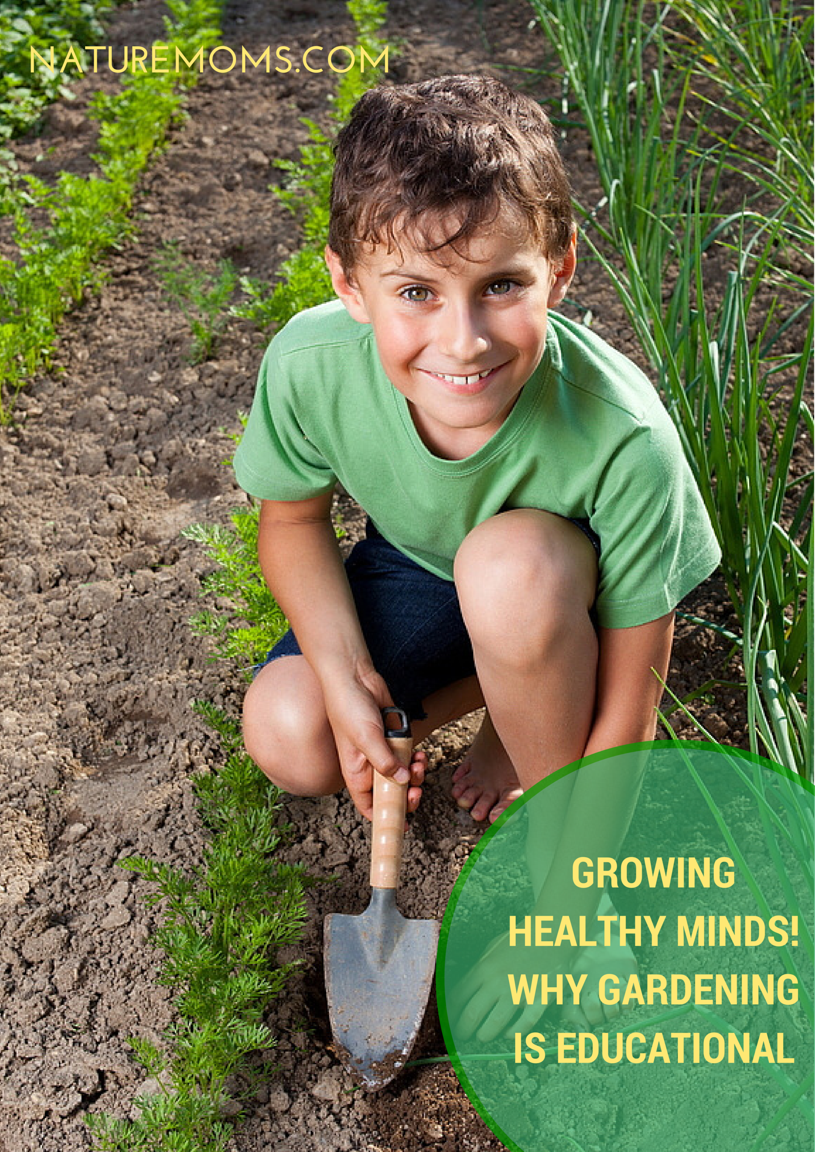 Growing Healthy Minds – Why Gardening is Educational