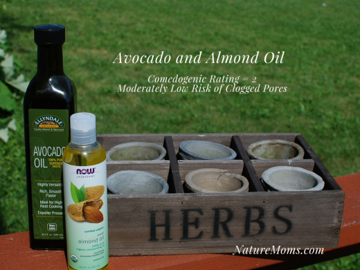 Now Foods avocado oil and almond oil