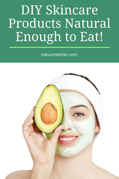 DIY Skincare Products Natural Enough to Eat