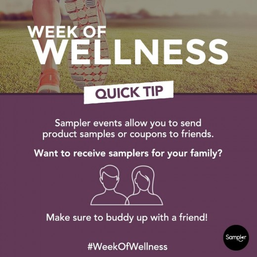 week of wellness buddy system