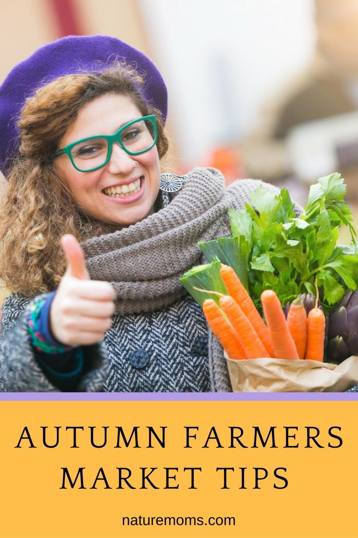 Autumn Farmers Market Tips pin