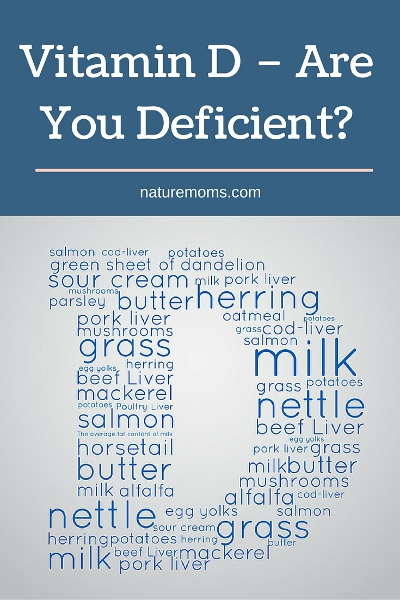 Vitamin D – Are You Deficient