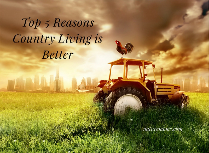Top 5 Reasons Country Living is Better