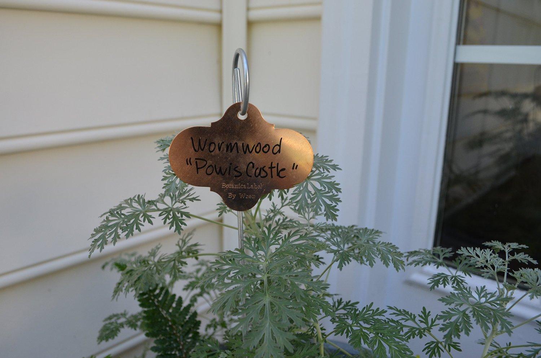 copper garden label