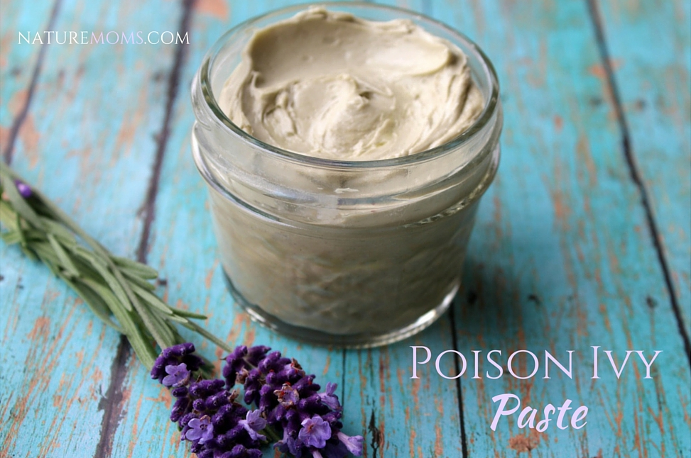 DIY poison ivy paste