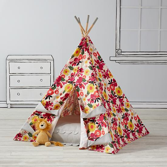 flower tepee