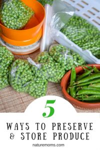 5 Ways To Preserve and Store Produce