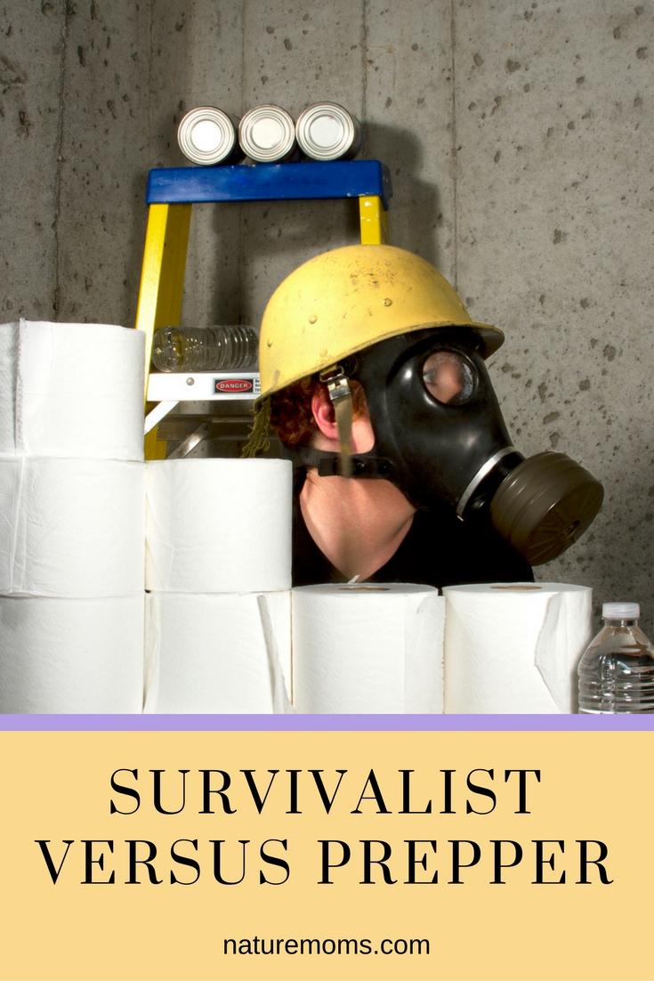 Survivalist versus Prepper