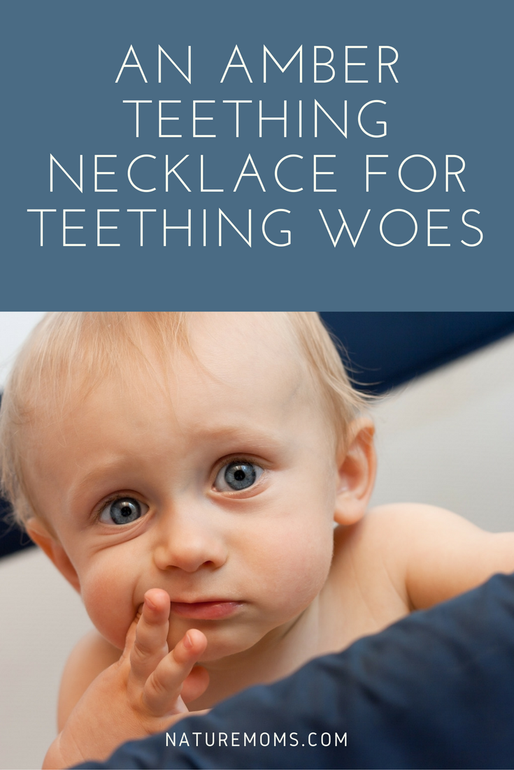 Amber Teething Necklace for Teething
