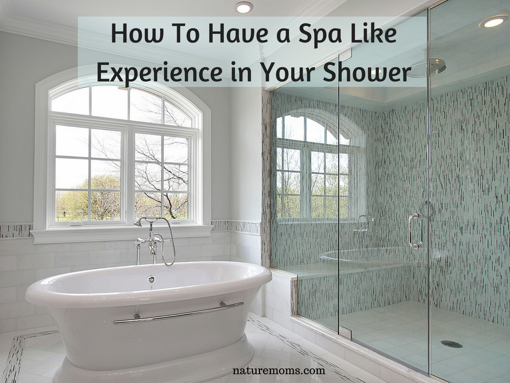 Create a Spa in Your Shower