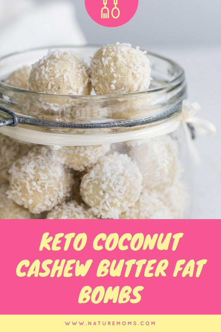 Keto Coconut Fat Bombs