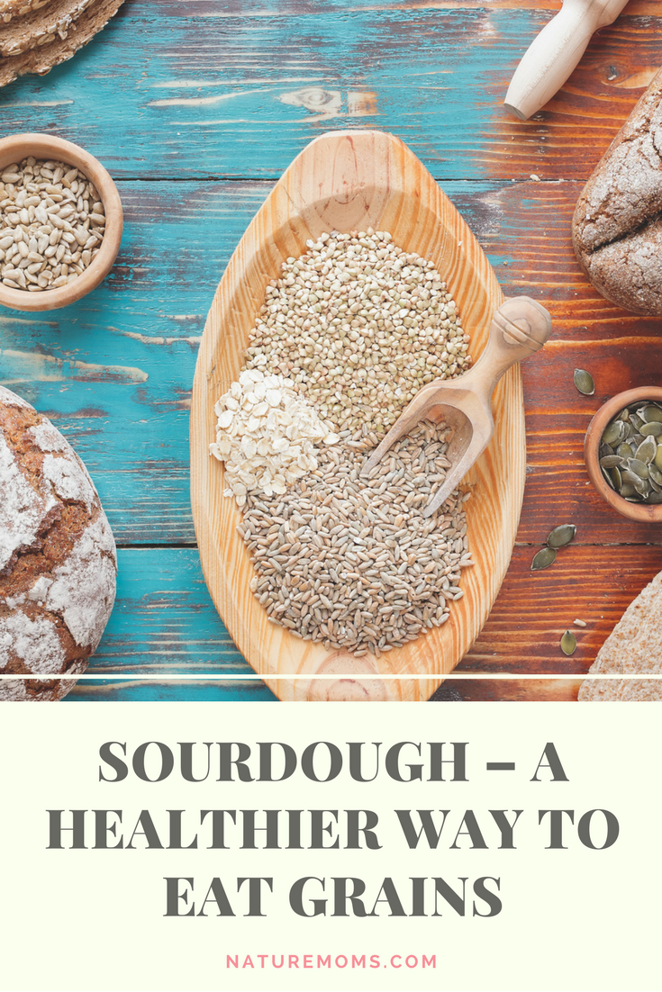 Sourdough for Healthier Grains