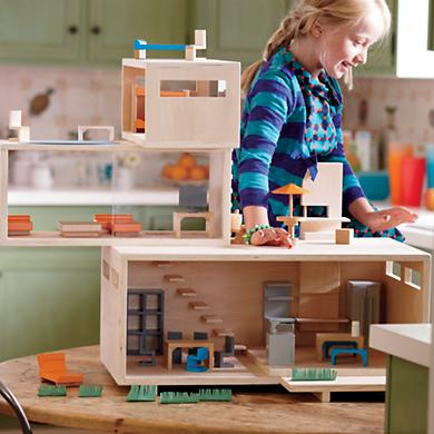 Eco Friendly Modern Dollhouse